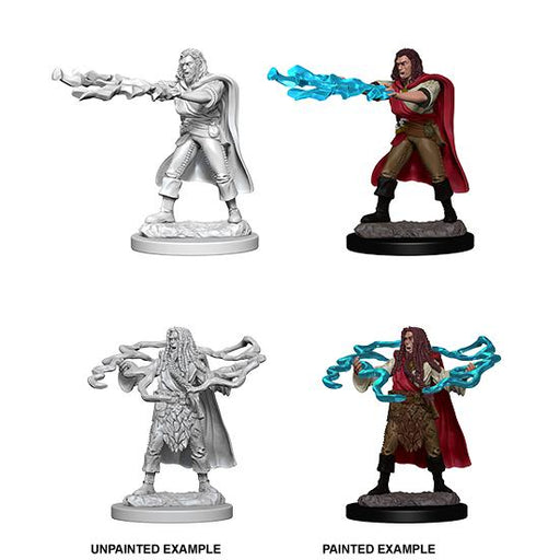 D&D Nolzur's Marvelous Miniatures: Human Male Sorcerer -Wave 1-LVLUP GAMES