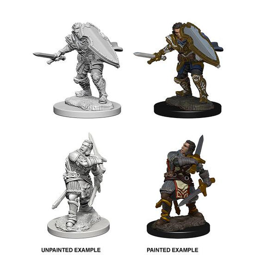 D&D Nolzur's Marvelous Miniatures: Human Male Paladin -Wave 3-LVLUP GAMES