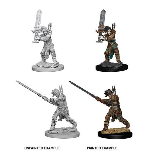 D&D Nolzur's Marvelous Miniatures: Human Female Barbarian-LVLUP GAMES