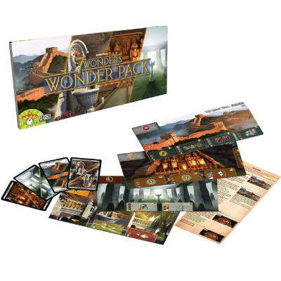 7 Wonders - Wonder Pack-LVLUP GAMES