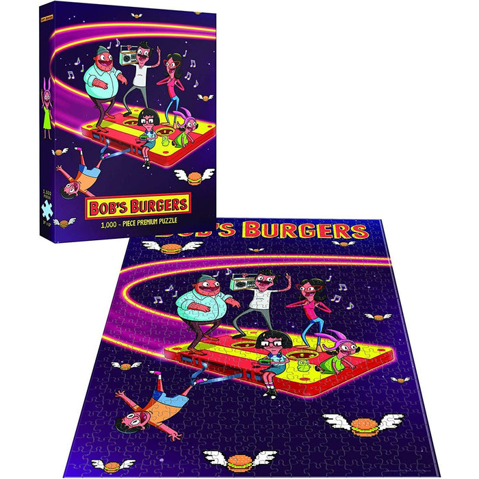 "Puzzle: Bob's Burgers - ""Belchers in Space"", 1000 Pieces"