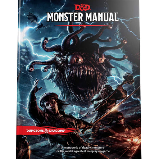 D&D (5th Edition) Monster Manual Hardcover RPG Book-LVLUP GAMES