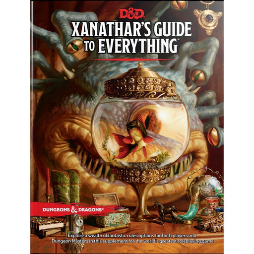 D&D (5th Edition) Xanathar's Guide to Everything Hardcover RPG Book-LVLUP GAMES