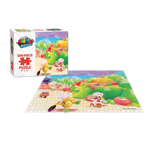 Super Mario Odyssey Assorted Puzzles, 200 Pieces-Luncheon Kingdom-LVLUP GAMES