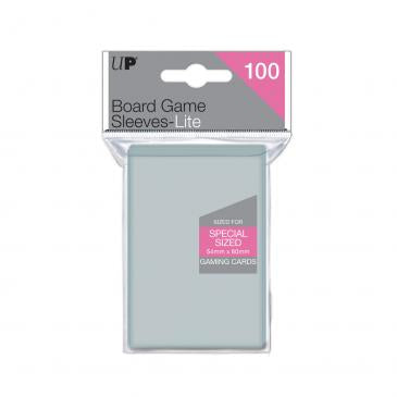 Ultra Pro Lite: Special Size 54mm x 80mm Sleeves, 100ct Clear-LVLUP GAMES