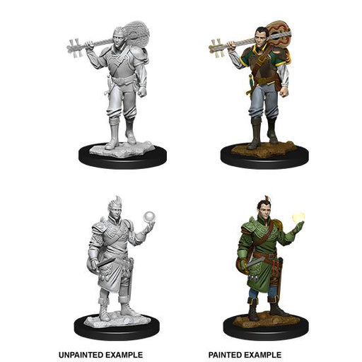 D&D Nolzur's Marvelous Miniatures: Half-Elf Male Bard-LVLUP GAMES
