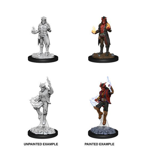 D&D Nolzur's Marvelous Miniatures: Tiefling Male Sorcerer-Wave 12-LVLUP GAMES