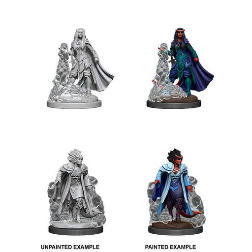 D&D Nolzur's Marvelous Miniatures: Tiefling Female Sorcerer-Wave 12-LVLUP GAMES