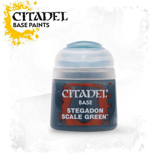 Citadel Paint: Base - Stegadon Scale Green-LVLUP GAMES