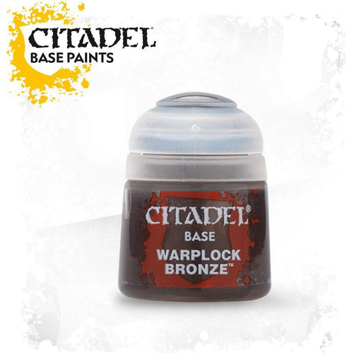 Citadel Paint: Base - Warplock Bronze-LVLUP GAMES