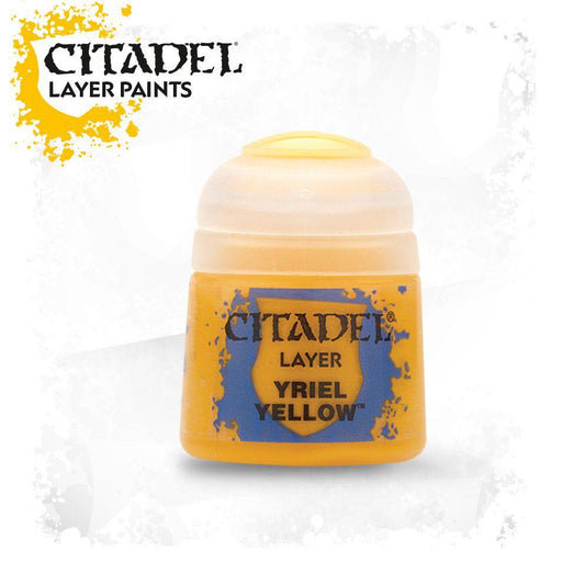 Citadel Paint: Layer - Yriel Yellow-LVLUP GAMES