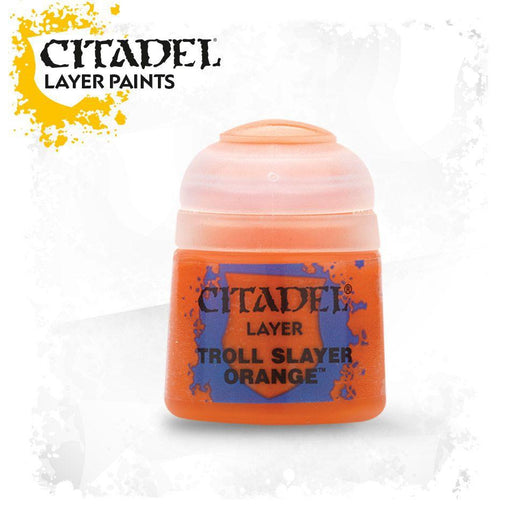 Citadel Paint: Layer - Troll Slayer Orange-LVLUP GAMES