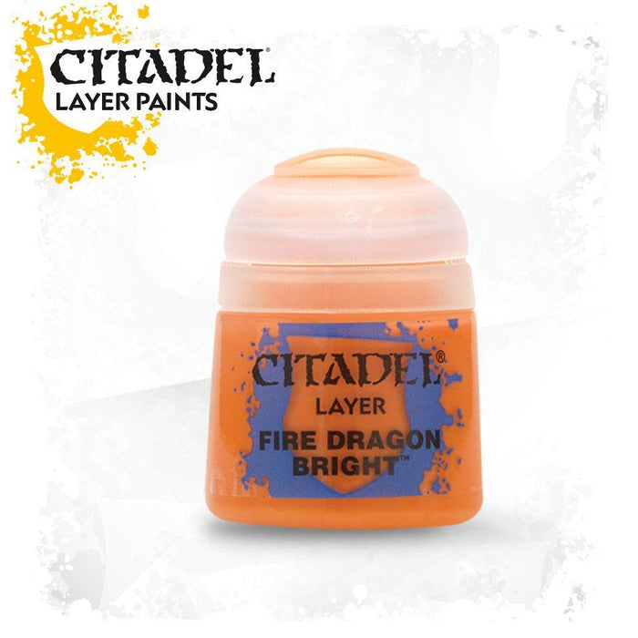 Citadel Paint: Layer - Fire Dragon Bright-LVLUP GAMES