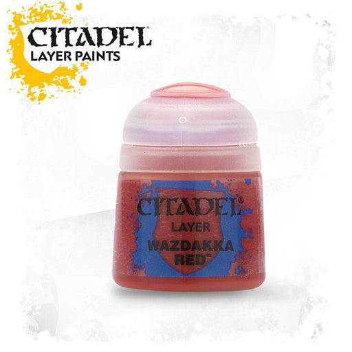 Citadel Paint: Layer - Wazdakka Red-LVLUP GAMES
