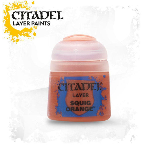 Citadel Paint: Layer - Squig Orange-LVLUP GAMES