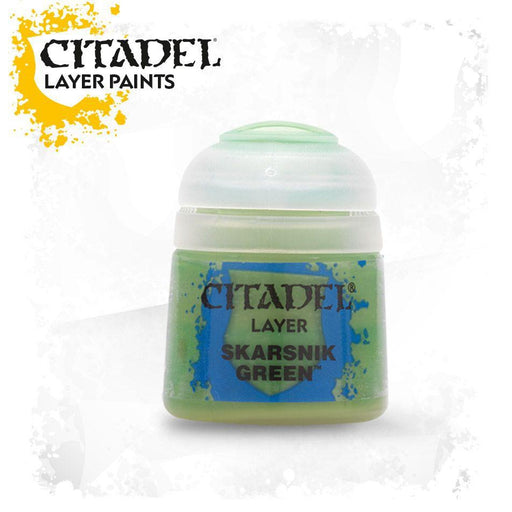 Citadel Paint: Layer - Skarsnik Green-LVLUP GAMES