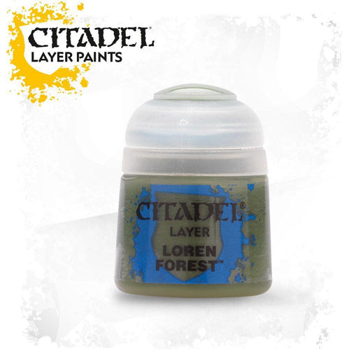 Citadel Paint: Layer - Loren Forest (12ml)-LVLUP GAMES