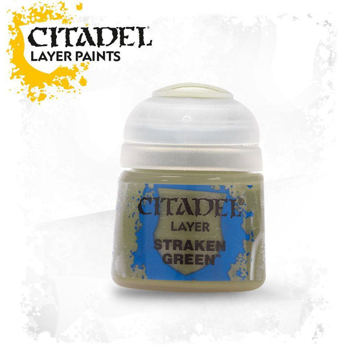 Citadel Paint: Layer - Straken Green-LVLUP GAMES