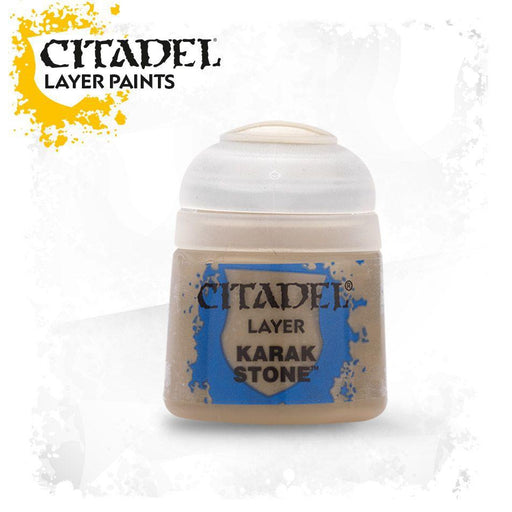Citadel Paint: Layer - Karak Stone-LVLUP GAMES