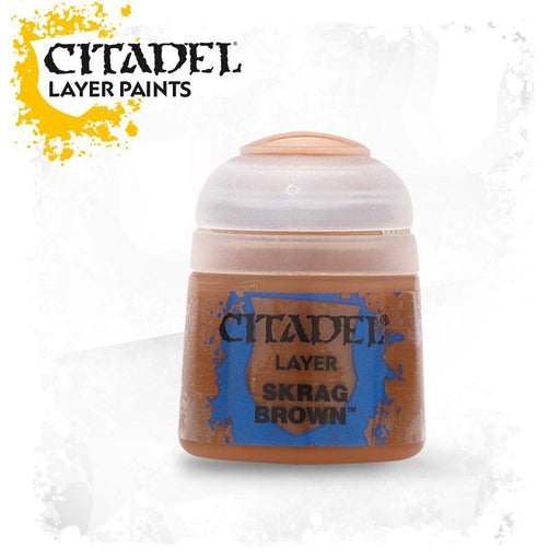 Citadel Paint: Layer - Skrag Brown-LVLUP GAMES