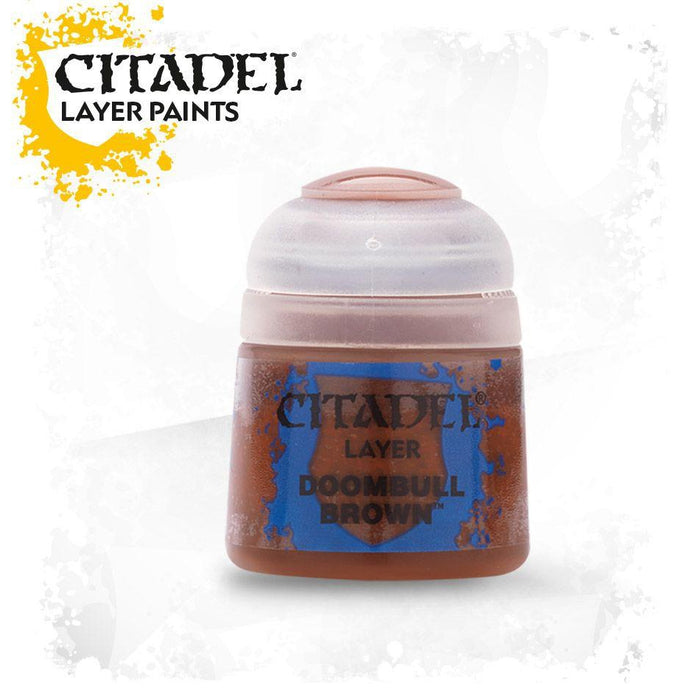 Citadel Paint: Layer - Doombull Brown-LVLUP GAMES