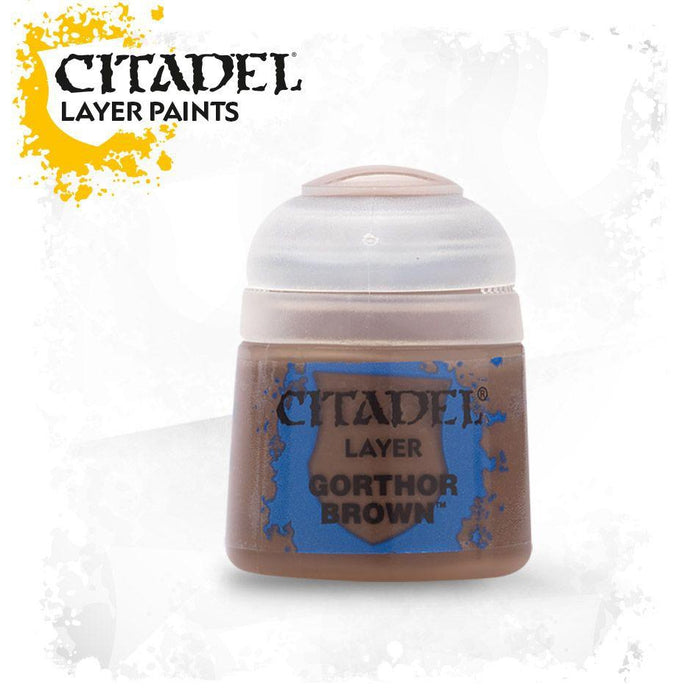 Citadel Paint: Layer - Gorthor Brown-LVLUP GAMES