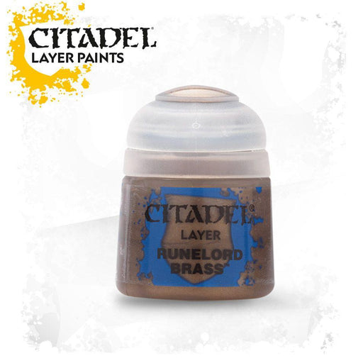 Citadel Paint: Layer - Runelord Brass-LVLUP GAMES