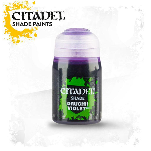 Citadel Paint: Shade - Druchii Violet (24 ml)-LVLUP GAMES