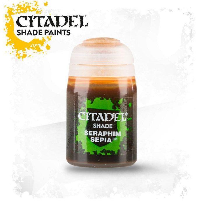 Citadel Paint: Shade - Seraphim Sepia (24 ml)-LVLUP GAMES