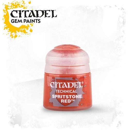 Citadel Paint: Technical - Spiritstone Red (12ml)-LVLUP GAMES