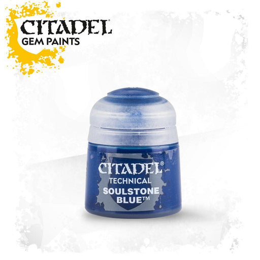 Citadel Paint: Technical - Soulstone Blue (12ml)-LVLUP GAMES