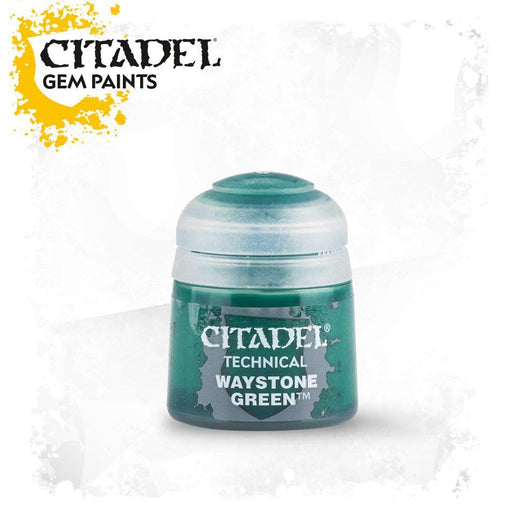 Citadel Paint: Technical - Waystone Green (12ml)-LVLUP GAMES