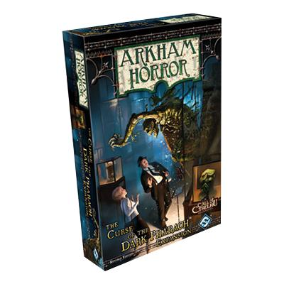 Arkham Horror: Curse of the Dark Pharaoh-LVLUP GAMES
