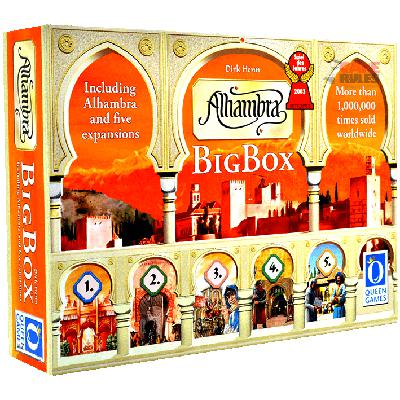 Alhambra: Big Box-LVLUP GAMES