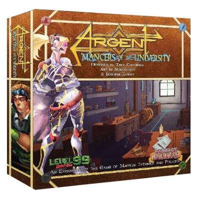 Argent: Mancers of the University (Second Edition)-LVLUP GAMES
