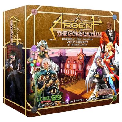 Argent: The Consortium (Second Edition)-LVLUP GAMES