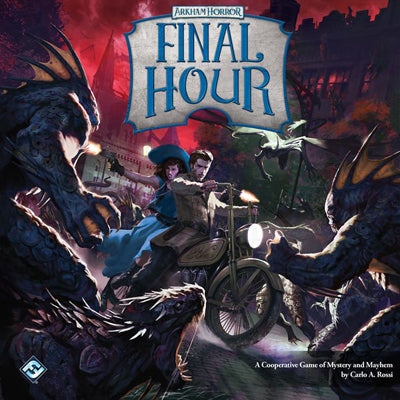 Arkham Horror: Final Hour-LVLUP GAMES