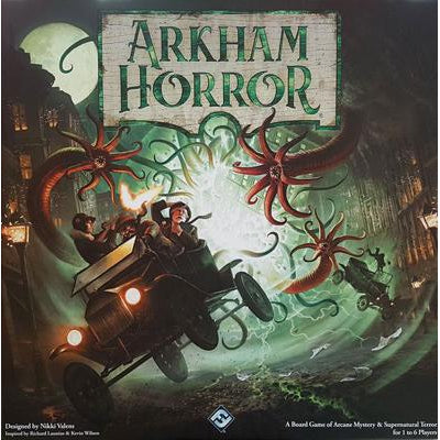 Arkham Horror (Third Edition)-LVLUP GAMES