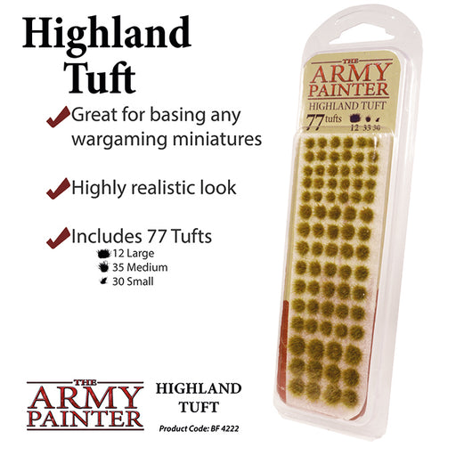 The Army Painter: Battlefields - Highland Tuft-LVLUP GAMES