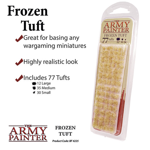 The Army Painter: Battlefields - Frozen Tuft-LVLUP GAMES