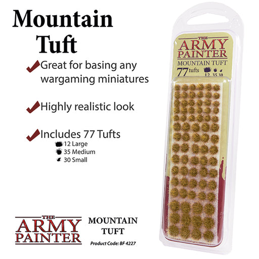 The Army Painter: Battlefields - Mountain Tuft-LVLUP GAMES