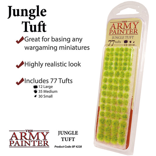 The Army Painter: Battlefields - Jungle Tuft-LVLUP GAMES