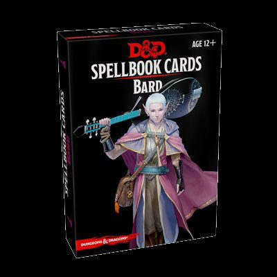 D&D Spellbook Cards