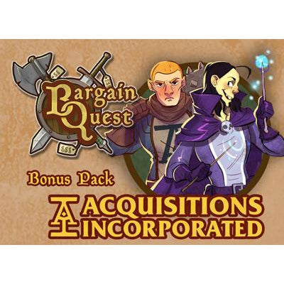 Bargain Quest Bonus Pack: Acquisitions Incorporated-LVLUP GAMES