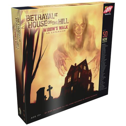 Betrayal at House on the Hill: Widow's Walk-LVLUP GAMES