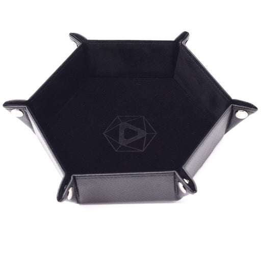 Die Hard: Folding Hex Velvet Tray-Black Velvet-LVLUP GAMES