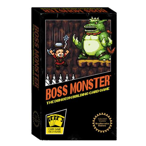 Boss Monster: The Dungeon Building Card Game-LVLUP GAMES