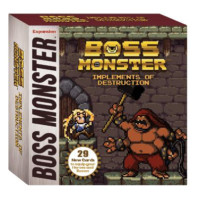 Boss Monster: Implements of Destruction-LVLUP GAMES