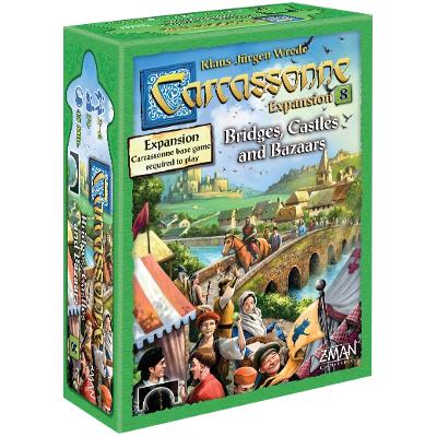 Carcassonne: Bridges, Castles and Bazaars-LVLUP GAMES