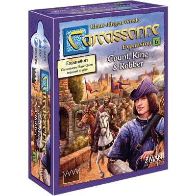 Carcassonne: Count, King & Robber-LVLUP GAMES